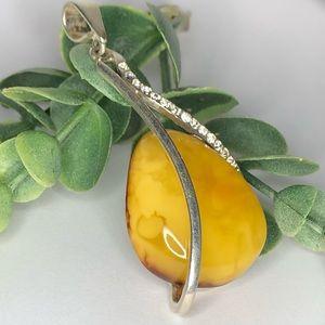 Butterscotch Amber necklace
